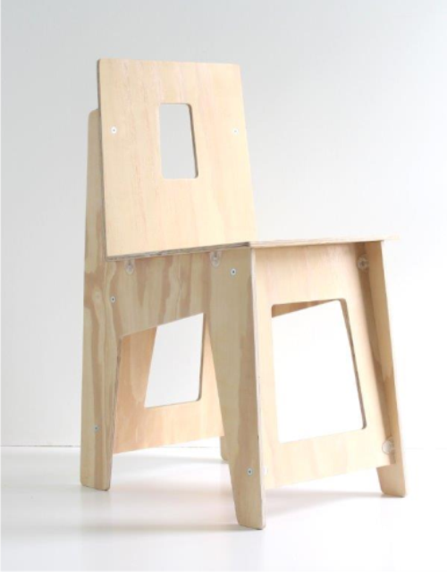 Pocket Chair Upright Plywood Chair My Pocket Factory
